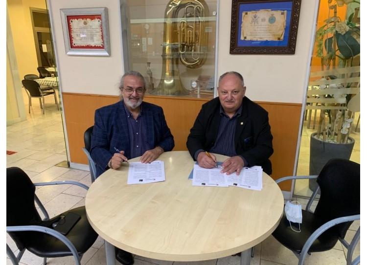 Acuerdo de colaboración entre SANIMUSIC y la CESM